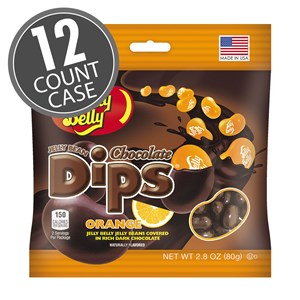 Chocolate Dips Orange - 12ct